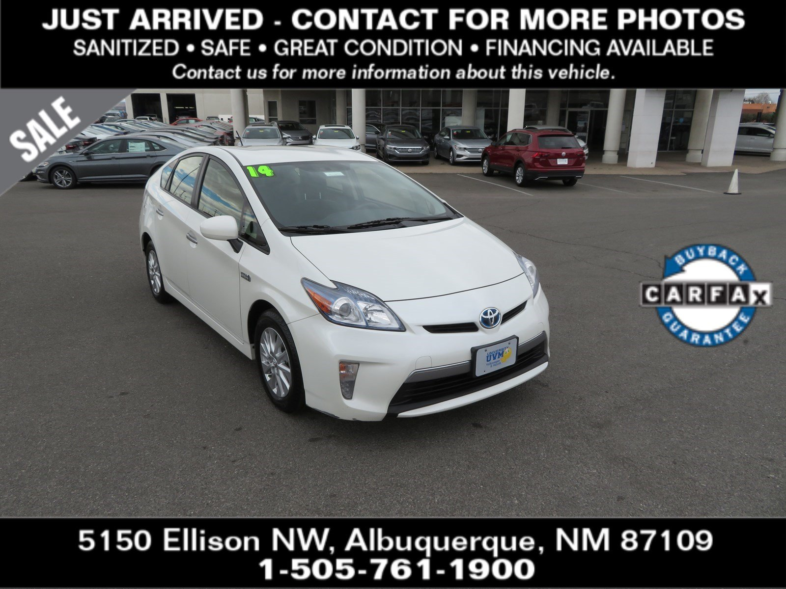 Pre-Owned 2014 TOYOTA PRIUS PLUG-IN Base