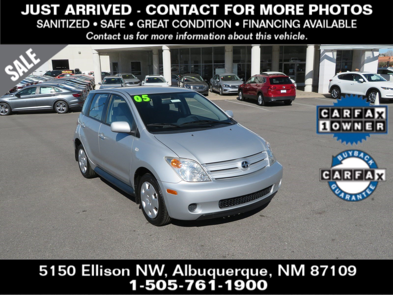 Pre-Owned 2005 SCION XA Base