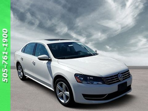 Pre-Owned 2012 Volkswagen Passat TDI SE with Sunroof