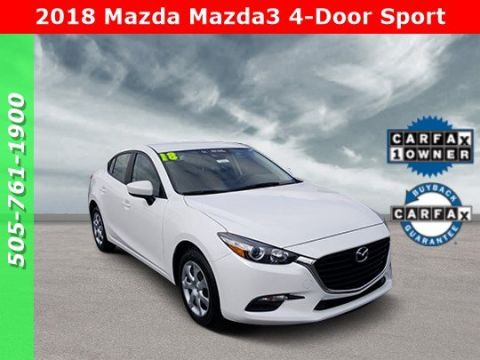Certified Pre-Owned 2018 Mazda3 4-Door Sport