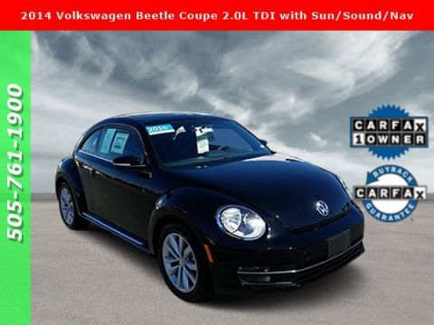 Pre-Owned 2014 Volkswagen Beetle Coupe 2.0L TDI with Sun/Sound/Nav