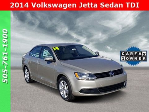 Pre-Owned 2014 Volkswagen Jetta Sedan TDI