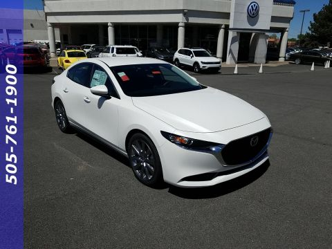 New 2019 Mazda3 Sedan with Preferred Pkg
